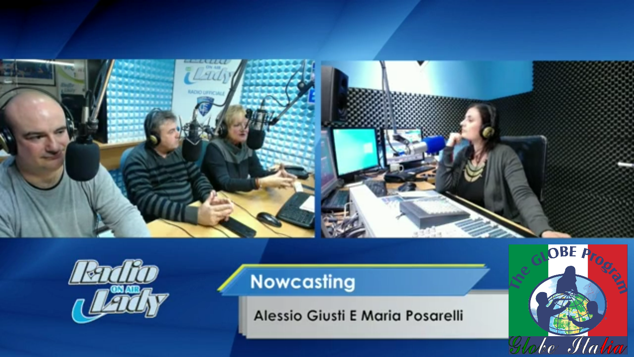 Posarelli Interv Radio Lady GLOBE