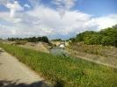 Scarico canale delle Acque Alte nel Diversivo di Mantova-1